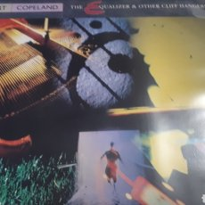 Discos de vinilo: STEWART COPELAND BATERIA DE POLICE THE EQUALIZER AND OTHER CLIFF HANGERS. Lote 206180973