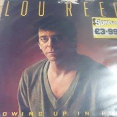 Discos de vinilo: LOU REED GROWING UP IN PUBLIC. Lote 206181966