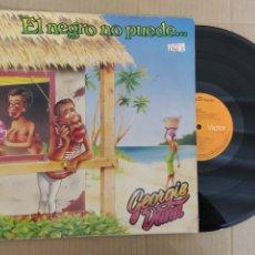 Discos de vinilo: RML REF:R400R DISCO VINILO GRANDE - GEORGIE DANN - EL NEGRO NO PUEDE.... Lote 206182418