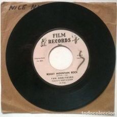 Discos de vinilo: THE ORBITEERS. LANDSLIDE/ ROCKY MOUNTAIN ROCK. FILM RECORDS, USA 1961 SINGLE. Lote 206182865