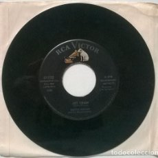 Discos de vinilo: BOOTS BROWN. JET TRAIN/ EL BRASERO. RCA-VICTOR, USA 1960 SINGLE. Lote 206184018