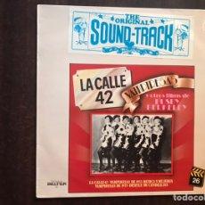 Discos de vinilo: LA MÚSICA EN EL CINE. LA CALLE 42. VAMPIRESAS.. Lote 206190532