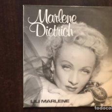 Discos de vinilo: MARLENE DIETRICH. LILI MARLEN. Lote 206190571