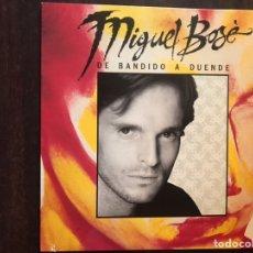 Discos de vinilo: MIGUEL BOSÉ. DE BANDIDO A DUENDE. Lote 206190586