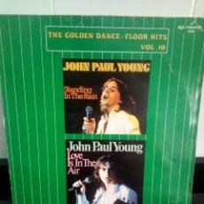 Discos de vinilo: JOHN PAUL YOUNG ?– THE GOLDEN DANCE-FLOOR HITS VOL. 10. Lote 205665431