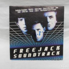 Discos de vinilo: SCORPIONS, SINGLE FREEJACK SOUNDTRACK, PROMOCIONAL 1990, MERCURIO. Lote 206191868