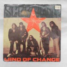 Discos de vinilo: SCORPIONS, SINGLE WIND OF CHANGE, 1990 MERCURY. Lote 206192210