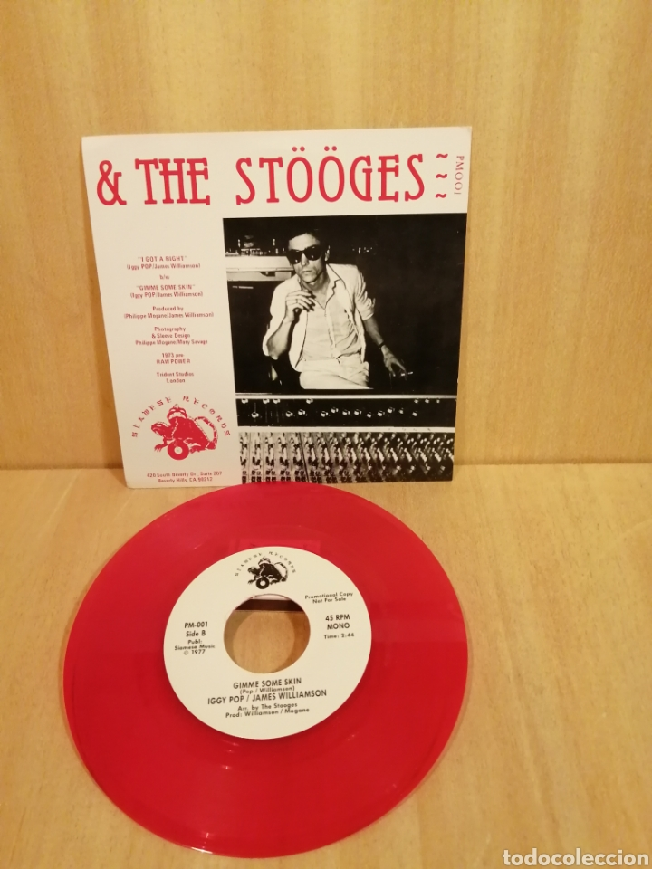 Discos de vinilo: Iggy & The Stooges. I got a right. Gimme some skin. - Foto 2 - 206193572