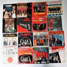 Discos de vinilo: LOS TAMARA LOTE DE EPS Y SINGLES (ZAFIRO-NOVOLA) OPORTUNIDAD. Lote 206193771
