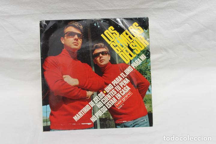 LOS GEMELOS DEL SUR, SINGLE, MARTIRIO DE CELOS, 1968 (Música - Discos - Singles Vinilo - Flamenco, Canción española y Cuplé)