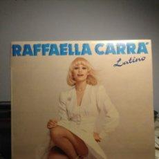 Discos de vinilo: LP RAFFAELLA CARRA CANTA EN ESPAÑOL : LATINO ( PEDRO, QUE LOCA ESTOY, MAÑANA, BUEN AMOR, ETC ). Lote 206196373