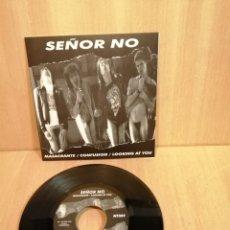 Discos de vinilo: SEÑOR NO. MASACRANTE, CONFUSIÓN, LOOKING AT YOU.. Lote 206198505