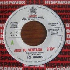 Discos de vinilo: LOTE 14 SINGLES LOS ÁNGELES, ALGUNOS PROMO *********** MIRAR FOTOS. Lote 206198943