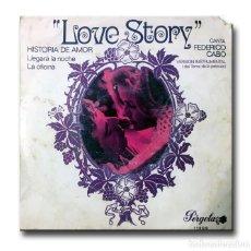 Discos de vinilo: LOVE STORY - FEDERICO CABO. Lote 206207643