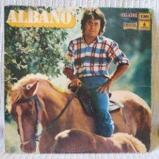 Discos de vinilo: AL BANO - ALBANO (SPAIN, ORLADOR 1972.- CIRCULO DE LECTORES) LP DE 10 PULGADAS EN ESPAÑOL E ITALIANO. Lote 206210883
