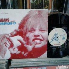Discos de vinilo: LMV - DUMAS. LÅNGSTRUMP EP. DOWNSALL PLASTICS 2002, REF. DSL 019 -- 10''. Lote 206212062