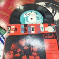 Discos de vinilo: LES BLUE STARS EP EMBRASSE-MOI BIEN + 3 ESPAÑA RAREZA. Lote 206219112