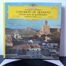 Discos de vinilo: JOAQUIN RODRIGO. CONCIERTO DE ARANJUEZ. FANTASIAS PARA UN GENTILHOMBRE. DEUTSCHE GRAMMOPHON. FRANCIA. Lote 206220555