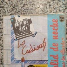Discos de vinilo: CARDIACOS - SALID DE NOCHE. SINGLE VINILO.. Lote 206222026