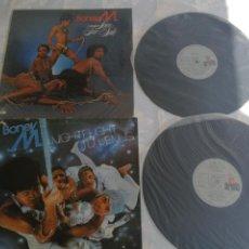 Discos de vinilo: LOTE 2 LPS BONEY M. LOVE FOR SALE 1977 Y NIGHTFLIGHT TO VENUS 1978 ESPAÑA. Lote 206222248