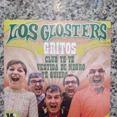 Discos de vinilo: LOS GLOSTERS. GRITOS. EP VINILO - NUEVO. Lote 206222755