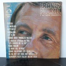 Discos de vinilo: FRANCK POURCEL. AMOR, BAILE Y VIOLINES. LA VOZ DE SU AMO. EMI. LA VOZ DE SU AMO.. Lote 206222765