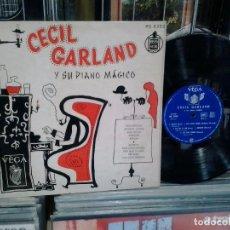 Discos de vinilo: LMV - CECIL GARLAND Y SU PIANO MÁGICO. HISPAVOX, REF. HS 8302 -- LP 10''. Lote 206225167