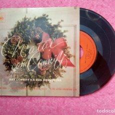 Discos de vinilo: EP RAY CONNIFF (NATAL COM CONNIFF) - SLEIGH RIDE +3 - CBS 5620 - EP PORTUGAL PRESS (EX/NM). Lote 206226913