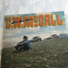 Discos de vinilo: C.W. MCCALL - BLACK BEAR ROAD LP 1975 ENGLAND CONVOY FOLK COUNTRY AMERICANO. Lote 206230041