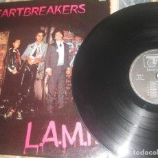 Discos de vinilo: HEARTBREAKERS* - L.A.M.F. (TRACK RECORDS 1977 ) OG FRANCIA LEA DESCRIPCION. Lote 206232495