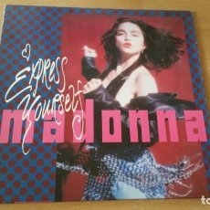 Discos de vinilo: LP MAXI MADONNA EXPRESS YOURSELF SIRE 1989 GERMANY. Lote 206234086