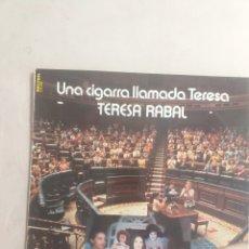 Discos de vinilo: UNA CIGARRA LLAMADA TERESA. Lote 206237027