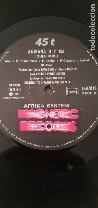 Discos de vinilo: Afrika System – Anikana-O Sello: Magnetic Records – 1567016 Formato: Vinyl, 12 - Foto 2 - 206238511