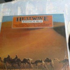 Discos de vinilo: HEATWAVE MAXIMUN HEAT LP 1983 ENGLAND EDICION. Lote 206238901
