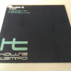 Discos de vinilo: DOUBLE K - EL RITMO. Lote 206239858