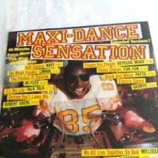 Discos de vinilo: MAXI DANCE SENSATION, DEPECHE MODE, LIMAHL, TALK MELISSA 1984 GERMANY. Lote 206241416