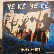 """Discos de vinilo: MORY KANTE* - YÉ KÉ YÉ KÉ (12"""", MAXI) 1987. SELLO:BARCLAY CAT. Nº: 887 048-1. COMO NUEVO. Lote 206242232"""