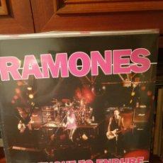 Discos de vinilo: RAMONES / STRENGHT TO ENDURE / BAD JOKER 2016. Lote 206243200