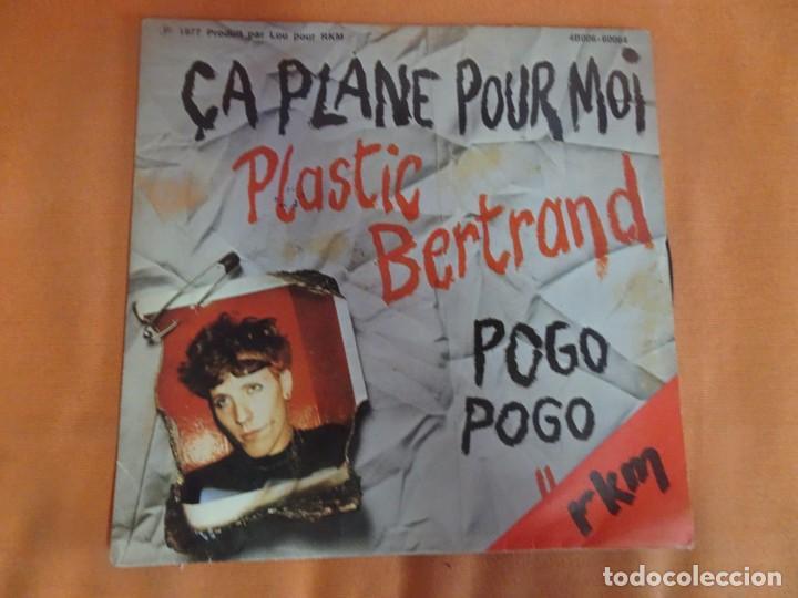 SINGLE , PLASTIC BERTRAND – POGO POGO / ÇA PLANE POUR MOI , VER FOTOS (Música - Discos - Singles Vinilo - Punk - Hard Core)