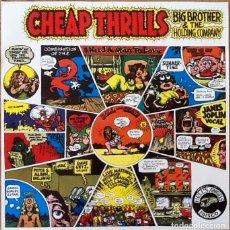 Discos de vinilo: BIG BROTHER & THE HOLDING COMPANY : CHEAP THRILLS [ESP 1981] LP/RE. Lote 206245781