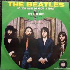 Discos de vinilo: BEATLES - DO YOU WANT TO KNOW A SECRET - EP - MEXICO - APPLE - RARO - PAUL MCCARTNEY - NO CORREOS. Lote 206245998