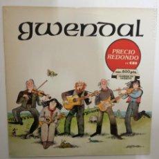 Discos de vinilo: GWENDAL- GWENDAL- SPAIN LP 1982 - VINILO COMO NUEVO.. Lote 206246108