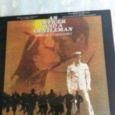 Discos de vinilo: BSO DE LA PELICULA DE OFICIAL Y CABALLERO PAT BENATAR, DIRE STRAITS VAN MORRISON ZZ TOP 1982 ESPAÑA. Lote 206246287