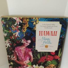 Discos de vinilo: LP. IN THE SPIRIT OF ALOHA. HAWAII. MELODIES FROM PARADISE. LONGINES SYMPHONETTE SOCIETY. VER FOTOS.. Lote 206247722