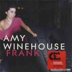 Discos de vinilo: LP AMY WINEHOUSE FRANK 180 GRS + DESCARGA NUEVO PRECINTADO. Lote 206248072