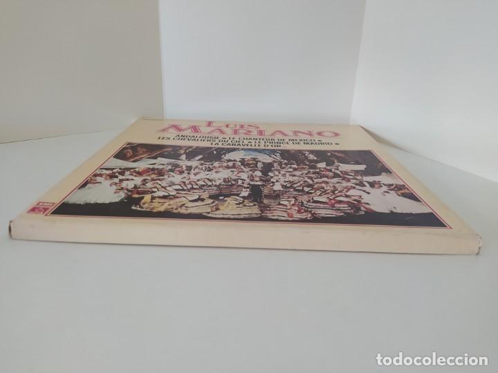 Discos de vinilo: LP. LUIS MARIANO. ANDALOUSIE. LE CHANTEUR DE MEXICO. LES CHEVALIERS DU CIEL. LE PRINCE DE MADRID. - Foto 3 - 206248342