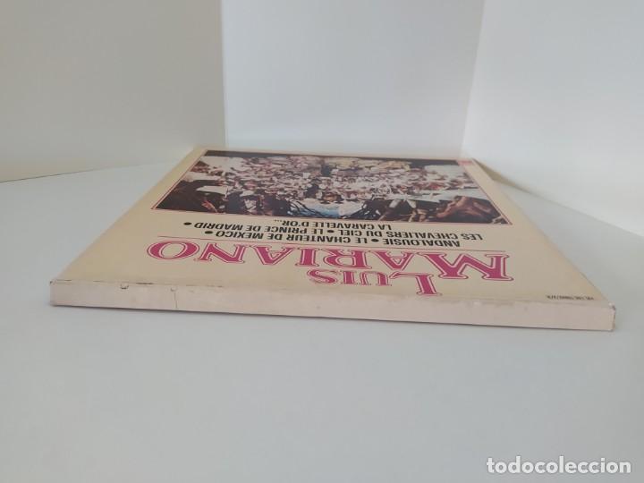 Discos de vinilo: LP. LUIS MARIANO. ANDALOUSIE. LE CHANTEUR DE MEXICO. LES CHEVALIERS DU CIEL. LE PRINCE DE MADRID. - Foto 5 - 206248342