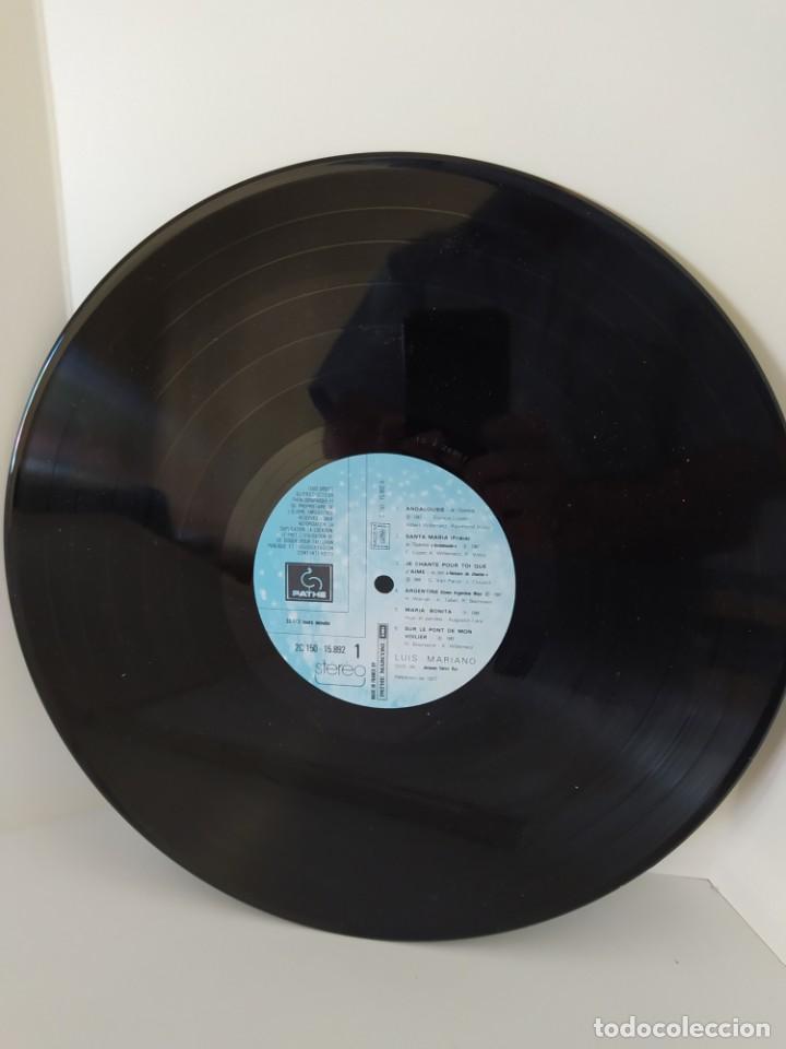 Discos de vinilo: LP. LUIS MARIANO. ANDALOUSIE. LE CHANTEUR DE MEXICO. LES CHEVALIERS DU CIEL. LE PRINCE DE MADRID. - Foto 7 - 206248342