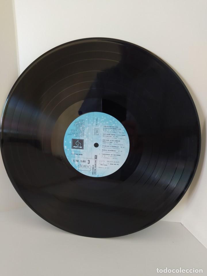 Discos de vinilo: LP. LUIS MARIANO. ANDALOUSIE. LE CHANTEUR DE MEXICO. LES CHEVALIERS DU CIEL. LE PRINCE DE MADRID. - Foto 8 - 206248342