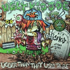 Discos de vinilo: LP UGLY KID JOE ‎UGLIER THAN THEY USED TA BE VINILO VERDE NUEVO PRECINTADO. Lote 206248345